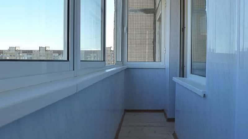 Отделка балкона самостоятельно