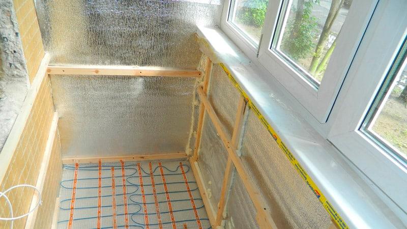 Осуществляем ремонт балкона самостоятельно