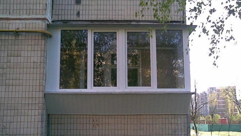 Ремонт балкона в панельном доме фото