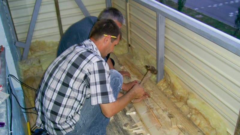 Внешняя отделка балкона своими руками