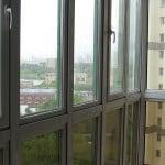 Тонируем стекла на балконе