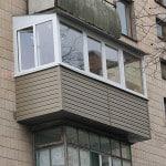 Увеличение балкона с трех сторон