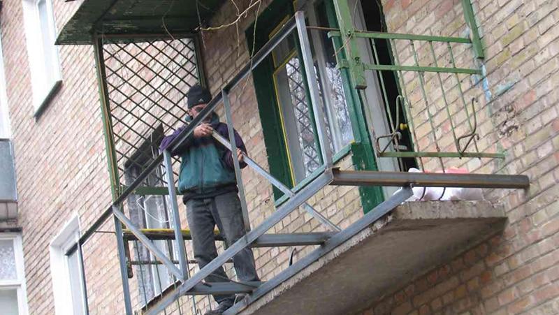 Расширить балкон - как расширить балкон, на сколько 10
