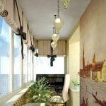 Фото дизайн балкона