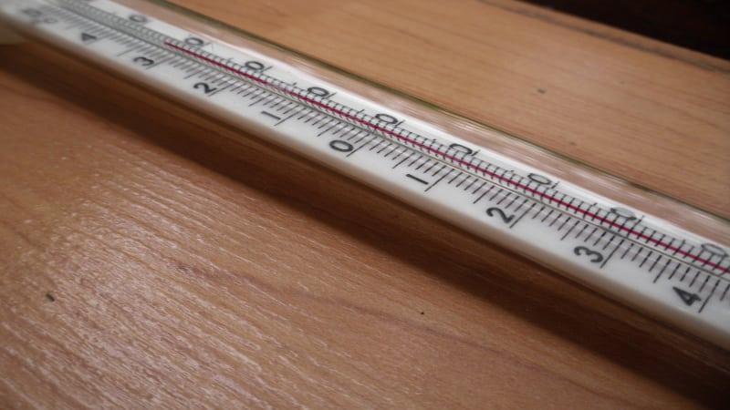 Спиртовой термометр для окон