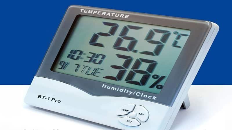 Бесконтактный термометр для окон