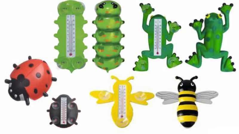 Термометр пчелка для окон