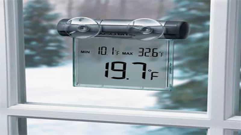 Уличный термометр на пластиковые окна