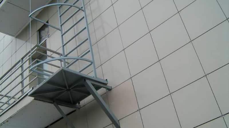 Что делать с пожарной лестницей