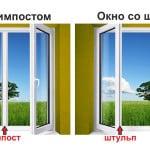 Что такое штульповое окно