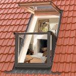 Конструкция окна-балкона