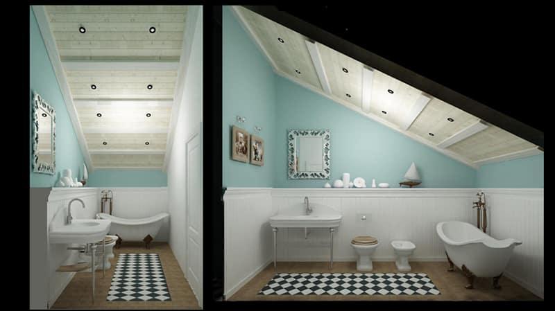Дизайн чердачного помещения
