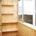 Делаем полки на балконе