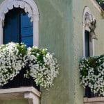 Оформляем открытый балкон цветами