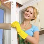Как отмыть окна ПВХ