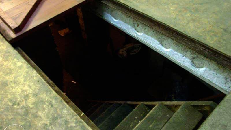 Как построить подвал с балкона на первом этаже