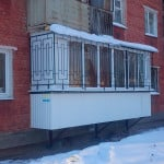 Как построить балкон навесной на первом этаже