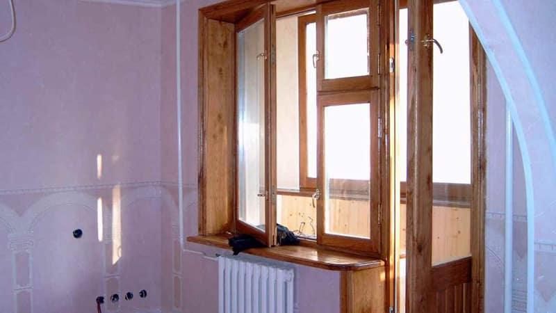 Виды деревянных дверей