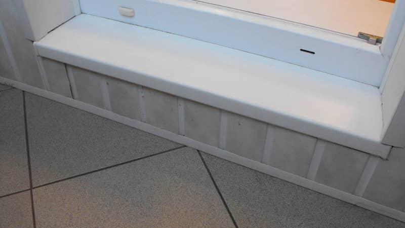 Как установить пластиковый порог на балкон или сделать из ла.