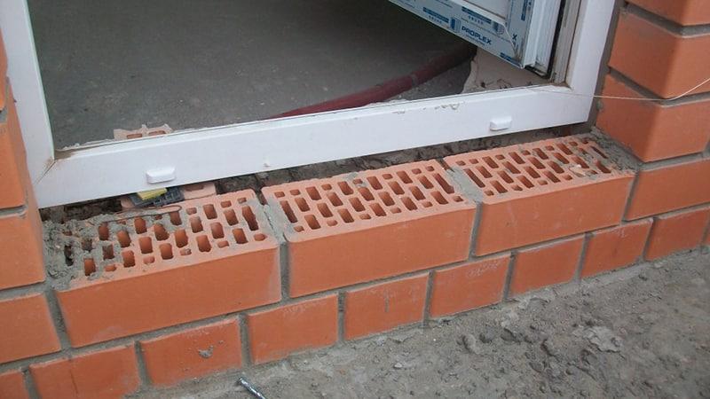 Как сделать порог на балкон