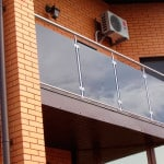 Стальное ограждение балконов