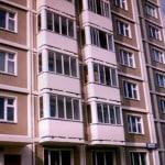 Балконы домов серии КОПЭ