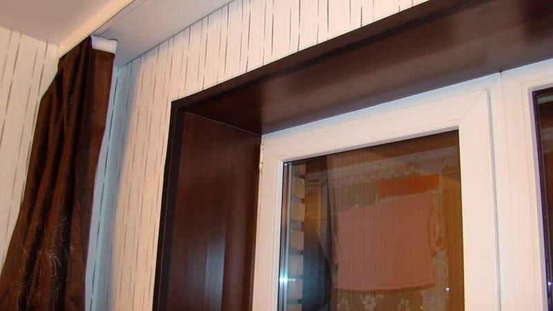 Откосы на окна из ламината