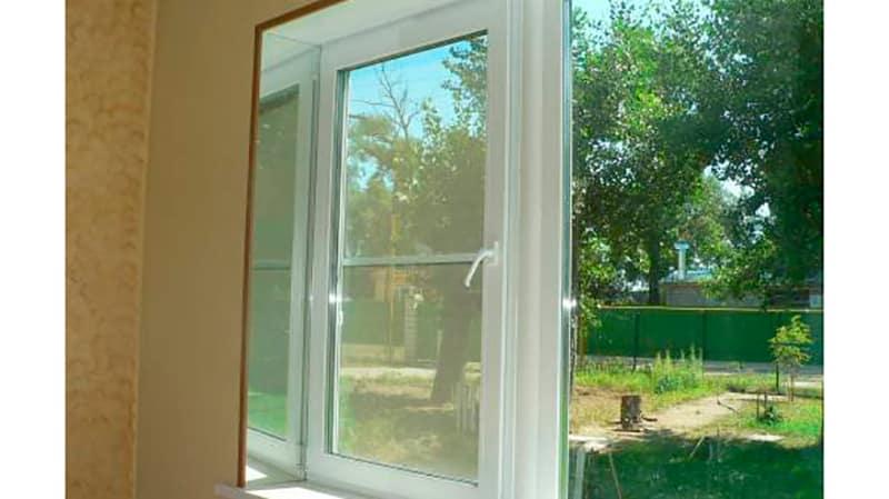 Зеркальные окна фото