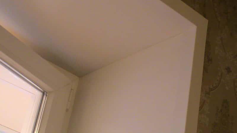 Установка откосов для окон из гипсокартона