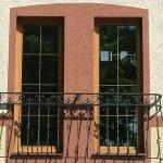 Французский балкончик - вариант оформления