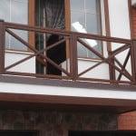 Парапет на балконе