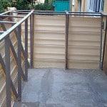 Расширение балкона по остеклению