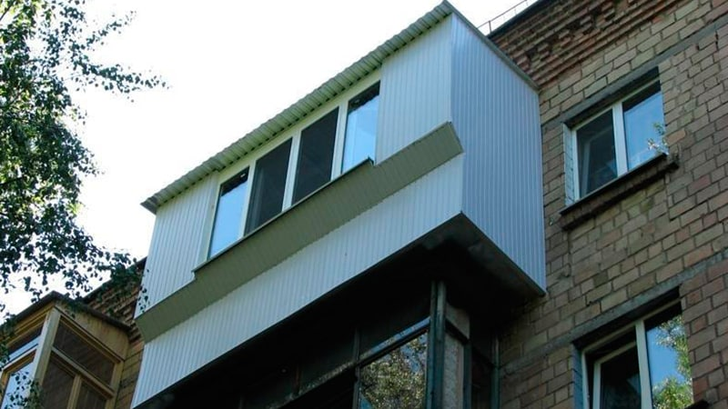 Расширение балкона по основанию плиты: ремонт плиты балкона.
