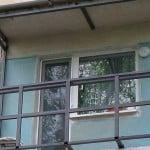 Расширение балкона по плите