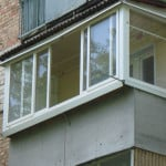 Раздвижные системы на балконе