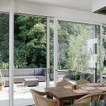 Конструкции стеклянных дверей