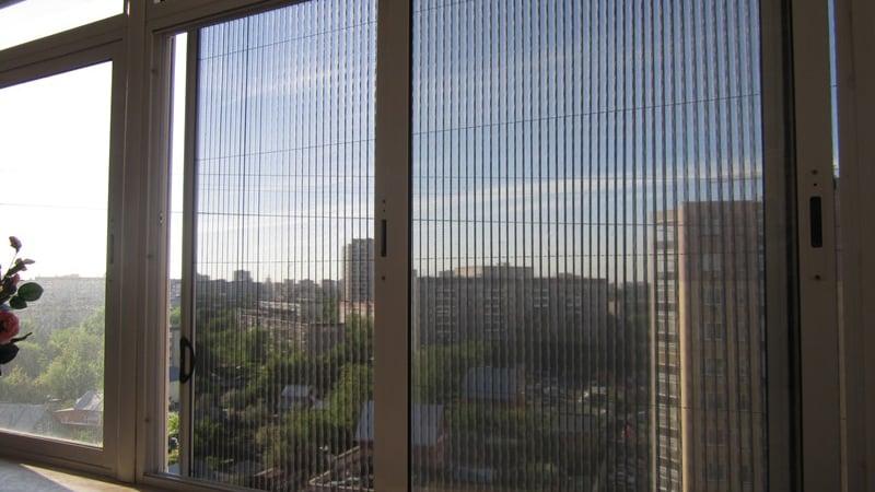 Сетка-плиссе на окна