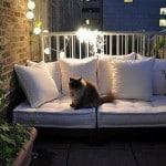 Скамейка на балконе своими руками