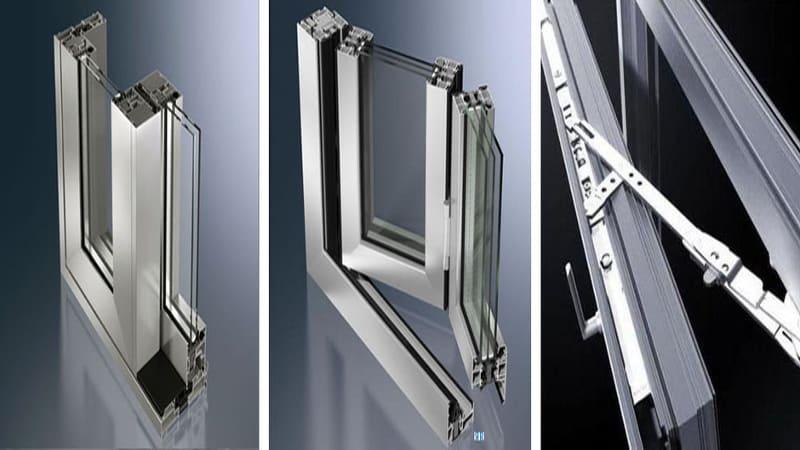 Какие бывают алюминиевые окна