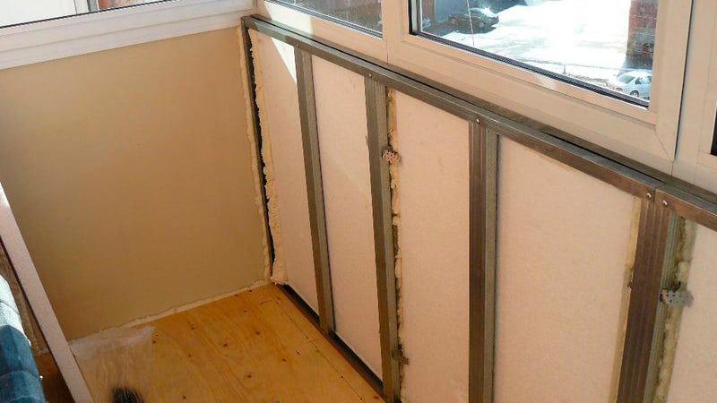 Теплый балкон: способы утепления лоджий.