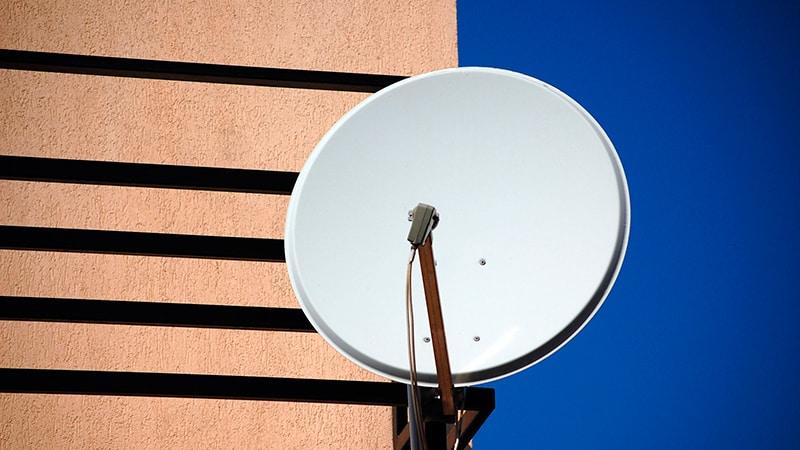 Установка спутниовой антенны