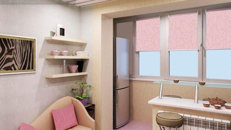 Устанавливаем холодильник на балконе