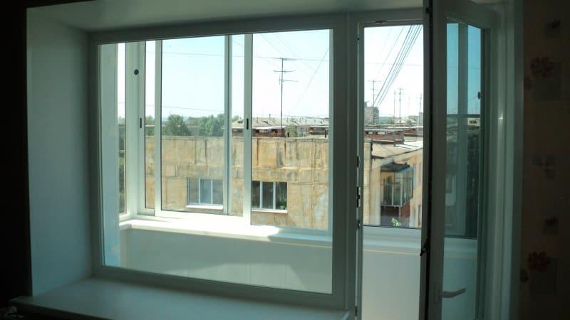 Как установить балконный блок