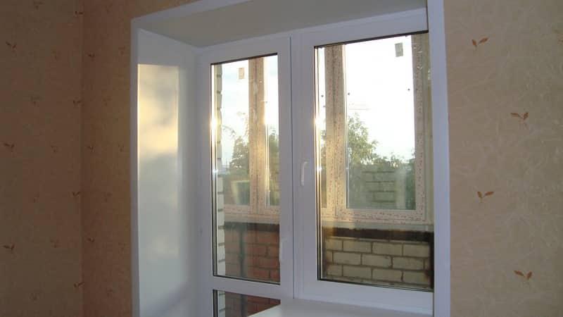 Монтаж оконного блока на балкон