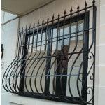 Кованые дутые решетки на окна