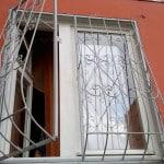 Распашные решетки на окна