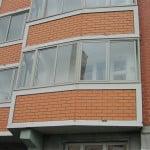 Остекление балкона т-44