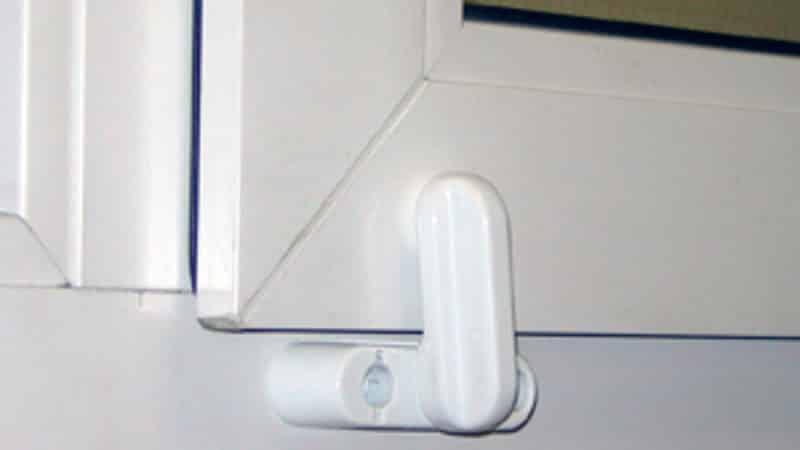 Защита на ПВХ окна от детей