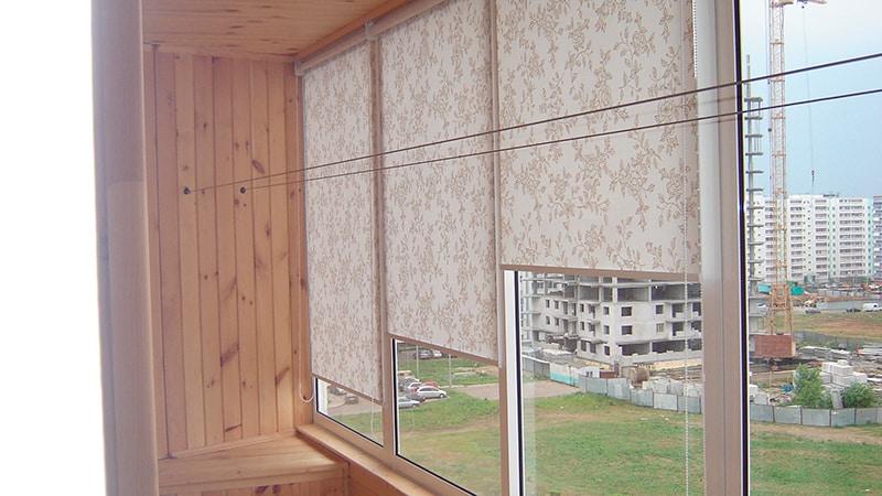 Жалюзи на раздвижные окна