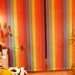 Цветные жалюзи на окна